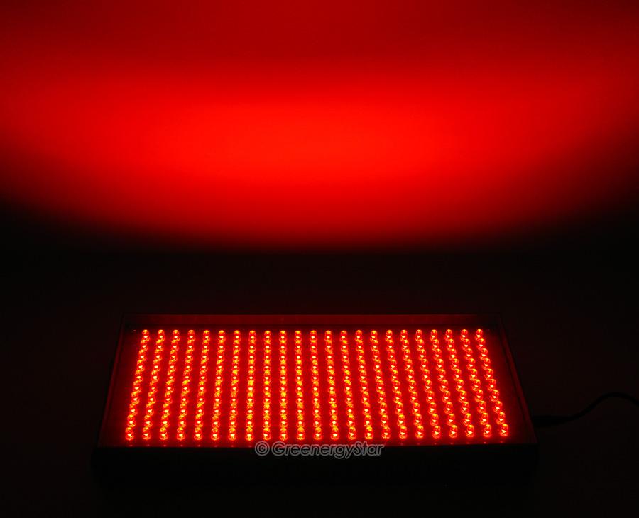 16w 230pcs Red Led Grow Light Panel 100v 240v 50 60hz Ac Adaptor